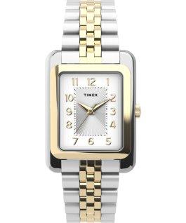 Zegarek Addison 25 mm z bransoletą ze stali nierdzewnej Dwukolorowy/Srebrny large