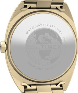Milano XL 38mm Stainless Steel Bracelet Watch Gold-Tone/Champagne large