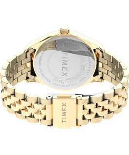 Waterbury Legacy with Swarovski Crystals 34mm Stainless Steel Bracelet Watch Gold-Tone large