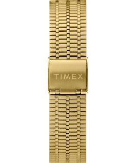 Montre Q Timex Reissue 38 mm Bracelet en acier inoxydable Gold-Tone/Blue/Black large