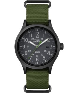 Expedition Scout 40mm Nylon Watch Black/Green large