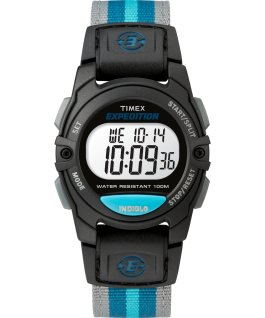 Expedition Digital 33mm Nylon Strap Watch Black/Two-Tone large