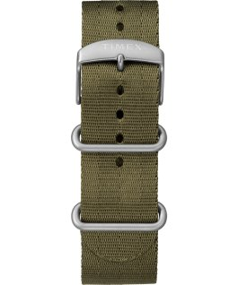 Expedition Gallatin Solar 44mm Fabric Strap Watch Black/Green large
