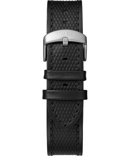 Montre Expedition Ranger Solar 43 mm Bracelet en cuir Argenté/Noir large