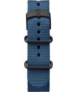 Expedition Scout 40mm Nylon Slip-Thru Strap Watch Black/Blue/Natural large