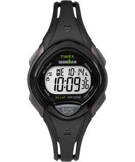 IRONMAN Sleek 30 Mid-Size 35mm Resin Strap Watch Gray/Black large