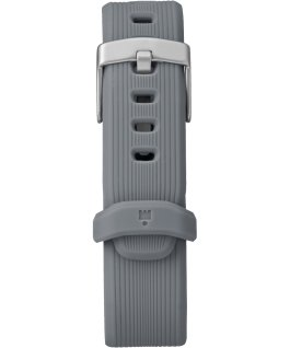 IRONMAN GPS 38mm Silicone Strap Black/Gray large