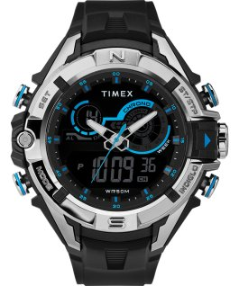 The Guard DGTL 47mm Resin Strap Combo Watch Black/Blue large
