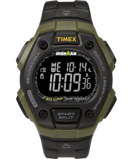Ironman Classic 30 Full Size 40mm Resin Strap Watch Green/Black large