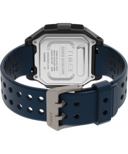 Command Urban 47mm Resin Strap Watch Black/Blue large