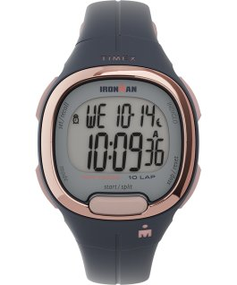Ironman Transit 10 33mm Mid-Size Resin Strap Watch Navy/Rose-Gold-Tone large