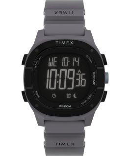 Montre Command LT 40 mm Bracelet en silicone Gris large