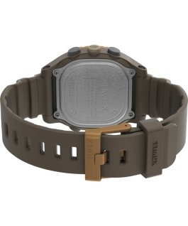 Montre Command LT 40 mm Bracelet en silicone Marron large