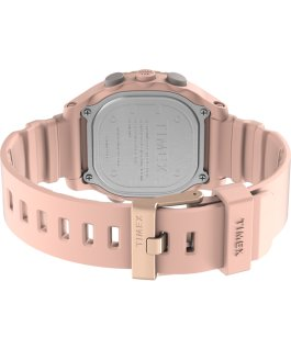 Montre Command LT 40 mm Bracelet en silicone Rose large