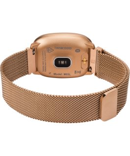 iConnect by Timex Premium Active 36mm Silicone Strap Smartwatch Rose-Gold-Tone large