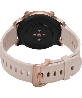 Timex Metropolitan R 42mm Silicone Strap Watch Rose-Gold-Tone/Pink large
