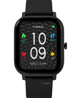 Timex Metropolitan S 36mm Silicone Strap Watch Black large