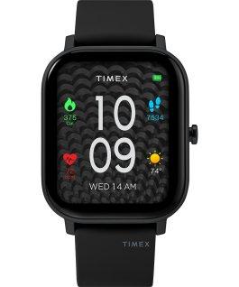Timex Metropolitan S 36mm Silicone Strap Watch Black large