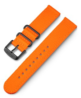 20mm Fabric Quick Release Strap Orange large