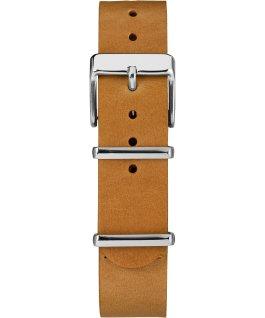 18mm Slip Thru Leather Strap 2 Tan large