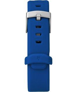Grand bracelet de remplacement en résine Ironman GPS bleu