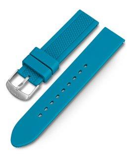 Grand bracelet de remplacement en résine Ironman GPS sarcelle