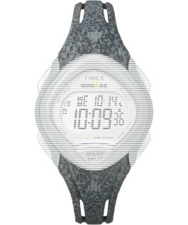 Replacement 16mm Resin Strap for Ironman Sleek 30 Mid Size Gray large