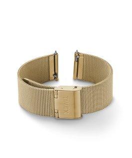 18 mm breites Mesh-Schnellverschlussarmband Goldfarben large