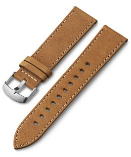 22mm Leather Strap Tan large