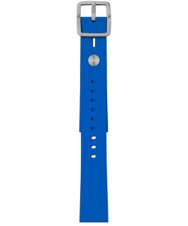 Giorgio Galli S1 Soft Silicone Accessory Strap Blue large