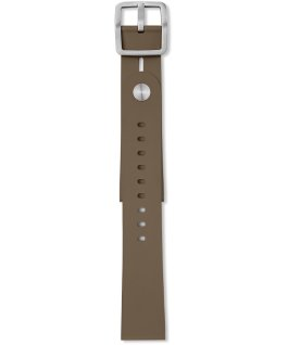Giorgio Galli S1 Soft Silicone Accessory Strap Brown large