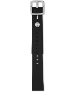 Giorgio Galli S1 Soft Silicone Accessory Strap Black large