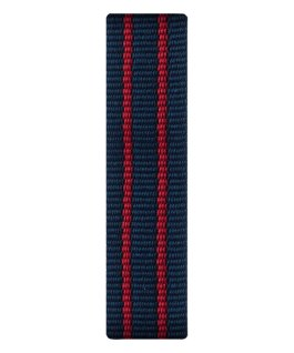Red/Blue Nylon Slip-thru Strap  large