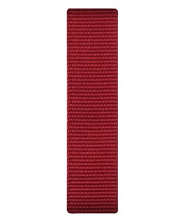 Red Nylon Slip-thru Strap  large