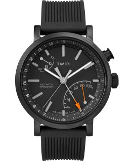 Metro Plus 42mm Silicone/Nylon Strap Gift Set Black large