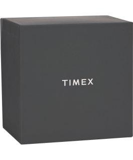 Set de regalo con reloj Harborside de 43mm y correa extra Cromado/Plateado/Negro large
