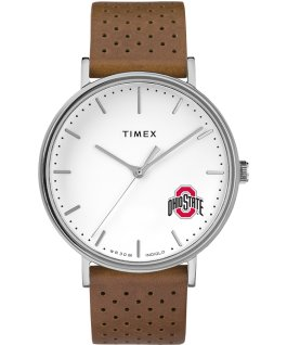 Bright Whites Ohio State Buckeyes  large