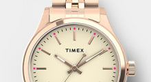Women's Bracelet watches, featuring Waterbury Neon in Rose Gold