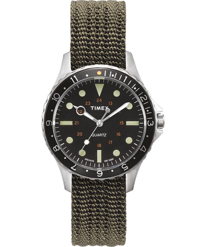 Navi Harbor 38mm Fabric Strap Watch large