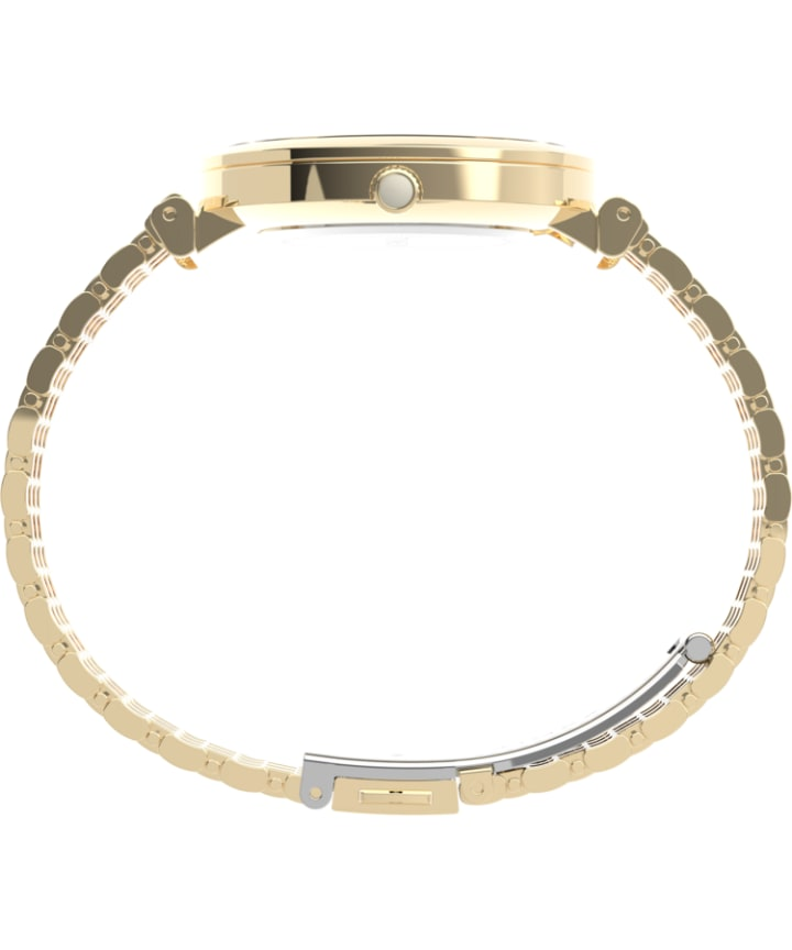 Parisienne 35mm Stainless Steel Bracelet Watch Gold-Tone/Mother-of-Pearl large