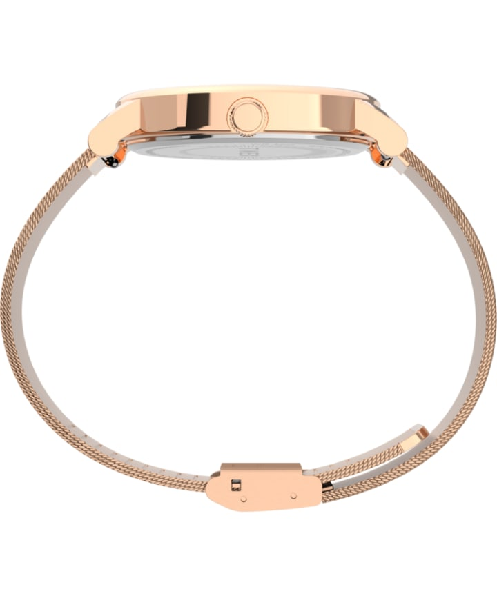 Originals 38mm Stainless Steel Mesh Band Watch Rose-Gold-Tone large