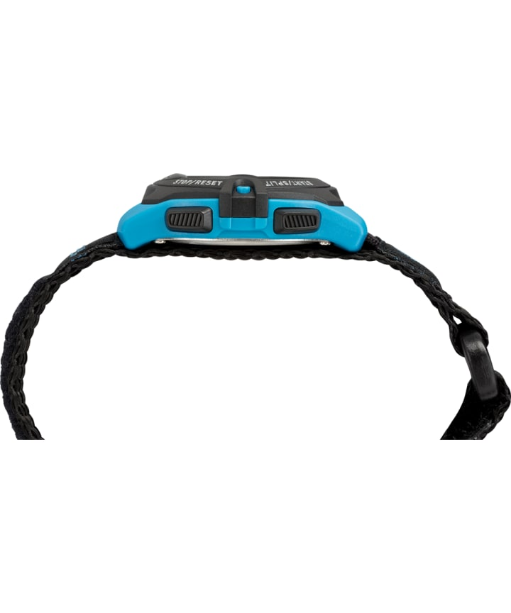 Expedition Digital 33mm Fabric Fastwrap Watch Blue/Black large