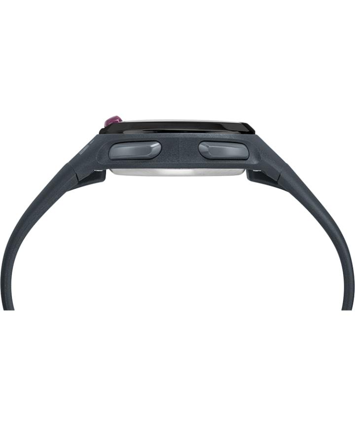 Ironman Transit 33mm Mid-Size Resin Strap Watch Gray/Black large