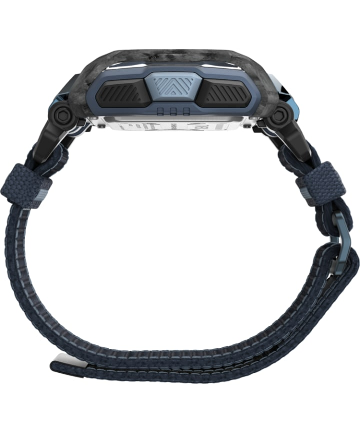 Command™ Shock 54mm Fabric FAST WRAP Watch Black/Blue large