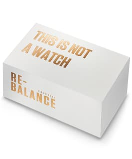 RE-BALANCE T-1 UNISEX - IP ROSE GOLD  large