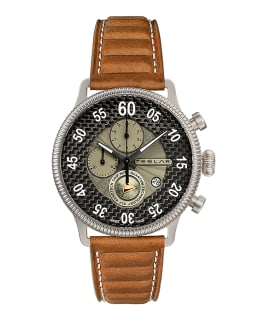 RE-BALANCE T-1 CHRONO SPORT - GREY AND BROWN  large