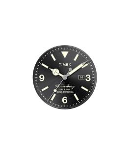 Dial negro/Minutero plateado  large