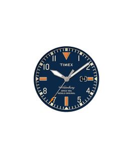 Dial azul/Minutero gris  large