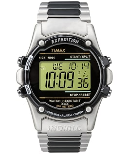 Expedition Atlantis 40mm Stainless Steel Watch Silver-Tone/Stainless-Steel/Black large