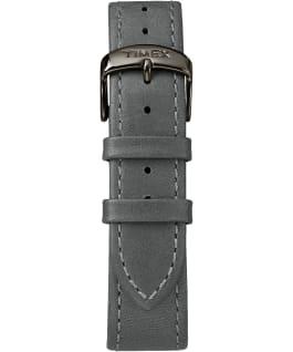 Waterbury classique 40mm grande, bracelet en cuir gris